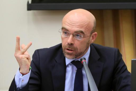 El portavoz de Vox, eurodiputado y abogado del Estado, Jorge Buxadé.