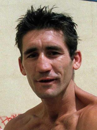 "El ex boxeador ""Poli"" Díaz."