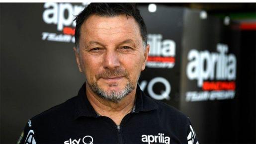 El expiloto italiano Fausto Gresini.