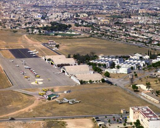 Vista aérea de las instalaciones.