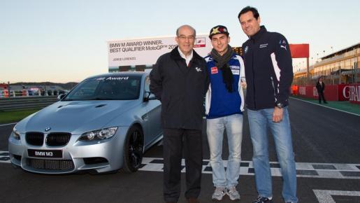 Loernzo se ha adjudicado el premio al mejor piloto de entrenamientos de MotoGP durante la temporada 2012.