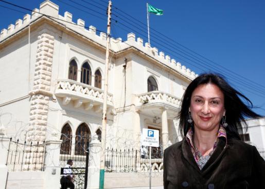 Imagen de archivo de la periodista Daphne Caruana Galizia.