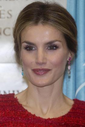 La Reina de España Letizia Ortiz en una imagen de archivo.