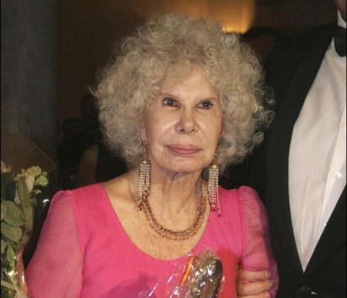 Foto de archivo de la Duquesa de Alba.