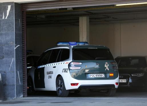 Agentes de la Guardia Civil se desplazaron hasta el lugar de los hechos.