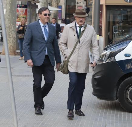 Manuel Penalva y Miguel Ángel Subirán, en una imagen de archivo.