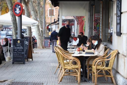 Desde el día 2 de marzo volverán a abrirse las terrazas de los bares en Mallorca.