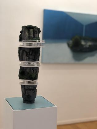 Una obra de 'Escenas domésticas', de Adrián García.
