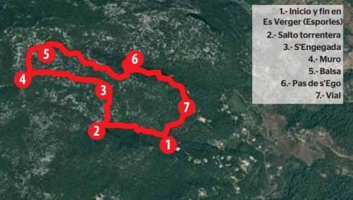 Los bosques meridionales de Na Ferrana.