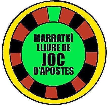 Logotipo de la plataforma 'Marratxí lliure de joc d'apostes'.