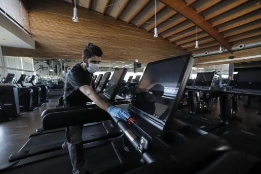 Las máquinas cardiovasculares aún no se podrán utilizar.