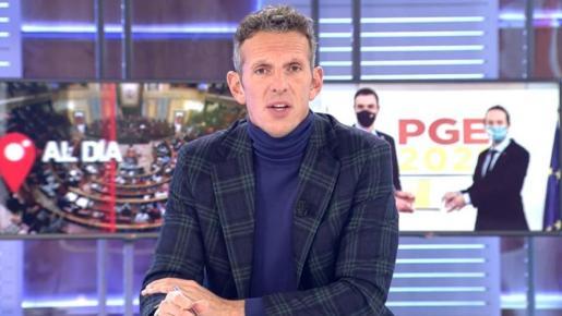 Joaquín Prat corta a un colaborador por llamar «subnormal» a un manifestante