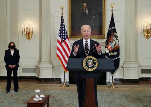 El presidente de Estados Unidos Joe Biden.