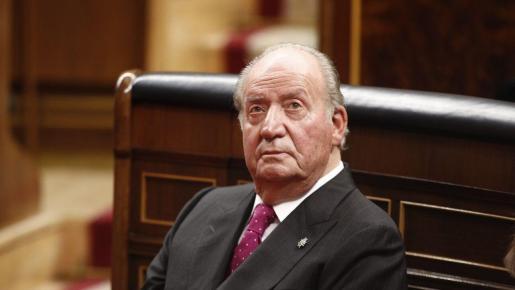 El rey emérito Juan Carlos I.