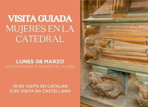 Habrá una visita a las 10:00 horas en catalán y una a las 11:30 horas en castellano.