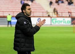 Sergio Rodríguez, técnico del Logroñés, en una imagen de archivo.