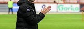 El técnico del Logroñés cree que pueden competir con el Mallorca «a un partido»