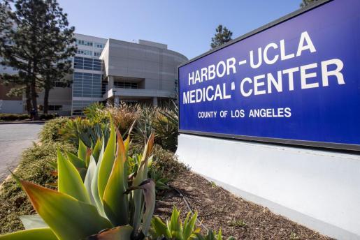 Vista del Centro Médico Harbor-UCLA.
