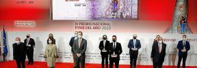 El Rey entrega el Premio Nacional Pyme del año a FacePhi Biometria