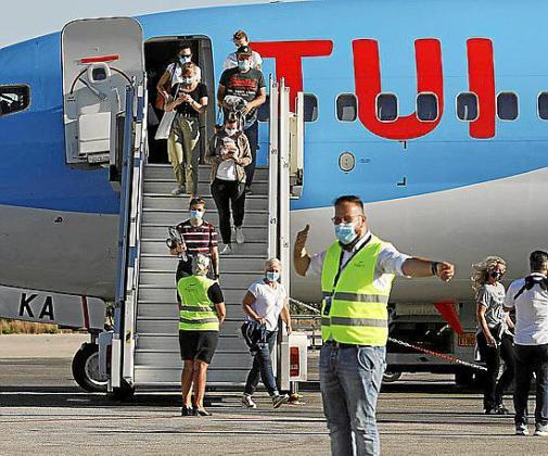 Inicia su operativa con dos vuelos semanales desde Alemania.