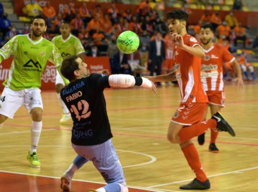 De esta forma el Jimbee Cartagena accede al liderato provisional de la Primera División de fútbol sala.