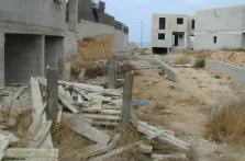 Aspecto degradado de los apartamentos de Ses Covetes