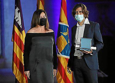 Armengol, con Víctor Zahínos.