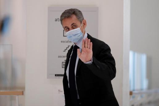 Nicolas Sarkozy, en una imagen de archivo tomada durante el juicio.