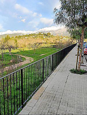 El muro del Serral de les Monges será reforzado.