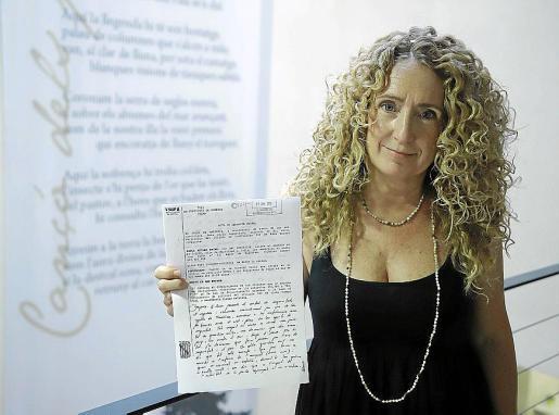 Paula Rotger denunció una discriminación por razones de lengua.