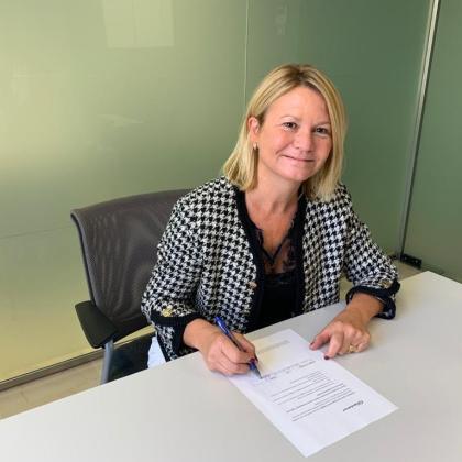 La diputada del PP Núria Riera.