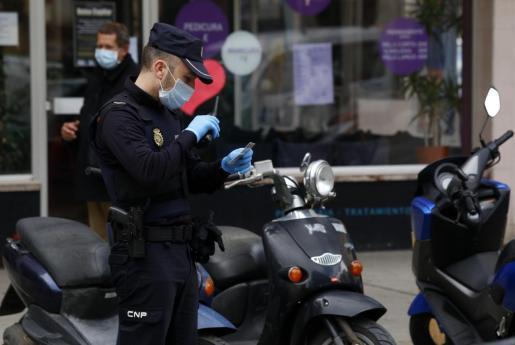 El arresto fue practicado por agentes del GOR.