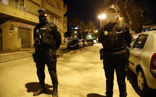 Agentes de la Policía Nacional practicaron la detención.