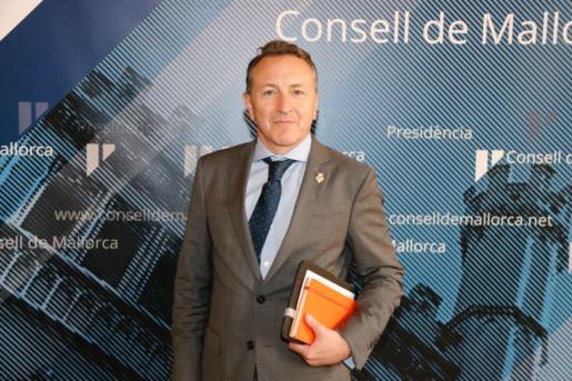 El conseller de Cs en el Consell de Mallorca Osvaldo Cifre.