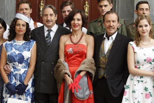 Imagen de archivo de la presentación de una de las temporadas de 'Amar en tiempos revueltos'.
