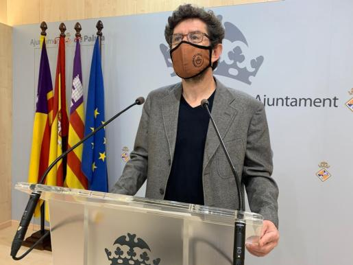 El portavoz del equipo de Gobierno, Alberto Jarabo.