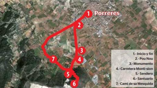 El itinerario de la fe, Santuario de Monti-sion (Porreres).
