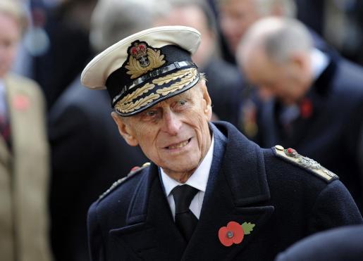 El duque de Edimburgo, de 99 años, en una imagen de archivo.