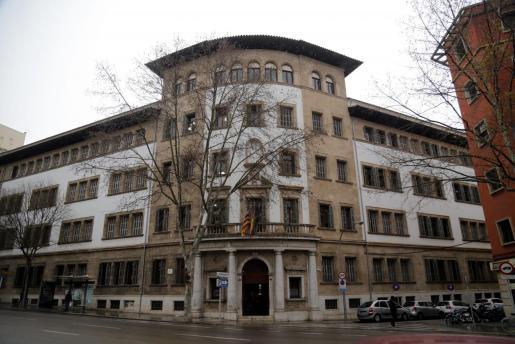 Juzgados de Vía Alemania, en Palma.