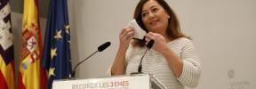 Francina Armengol, a Pablo Casado: «O se está con los especuladores o con la gente»