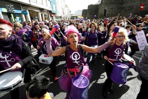 Imagen de archivo de una manifestación del 8M.