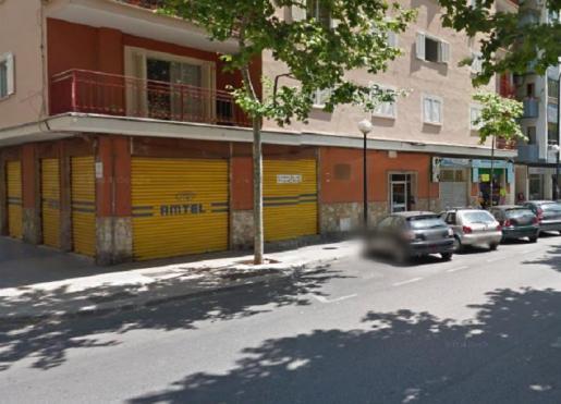 El suceso tuvo lugar en la calle Reyes Católicos de Palma.