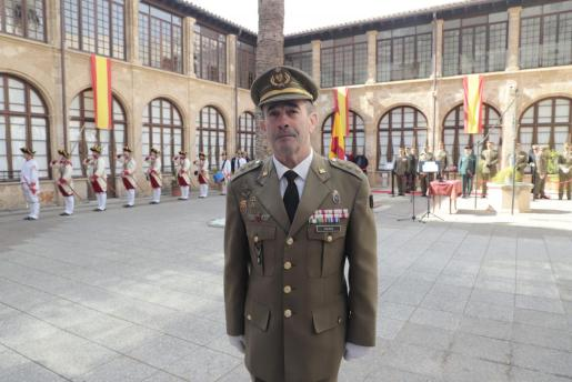 El coronel Jaime Galera , en una imagen de archivo.