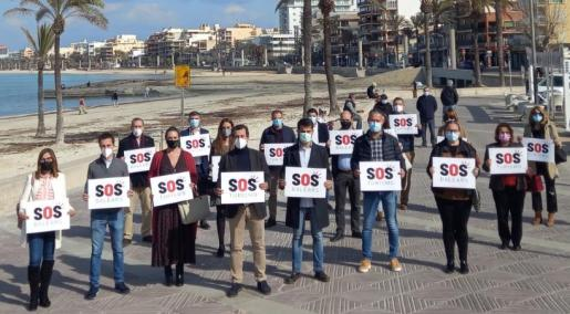 El PP ha anunciado su adhesión a SOS Turismo en Llucmajor.