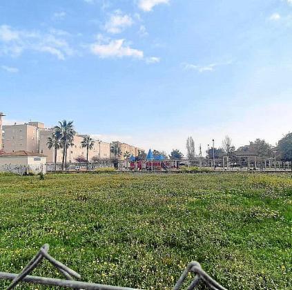 El solar municipal en que se construirá la escoleta de Son Gibert.