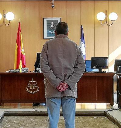 El acusado, este viernes, durante la vista.