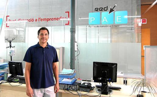 El concejal de Promoció Econòmica i Ocupació, Rodrigo Romero.
