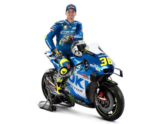 Ready for the 2021 challenge with this new amazing @suzukimotogp bike! And with a new partner in our journey… https://t.co/nGgNmezBgW