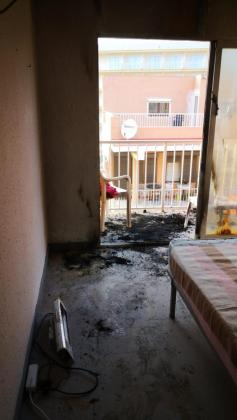 Imagen tomada desde una de las habitaciones.