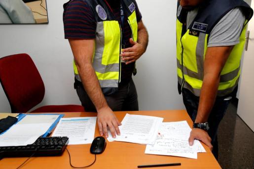 El arresto fue practicado por agentes de la UCRIF.